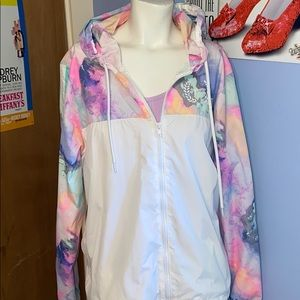 Pink Victoria's Secret Raincoat